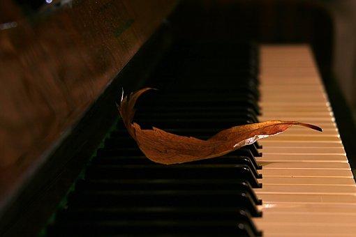 Sheet, Piano, Autumn, Music Of Autumn