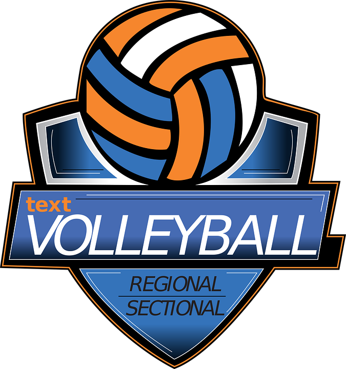Volleyball Logo Volley Free Vector Graphic On Pixabay