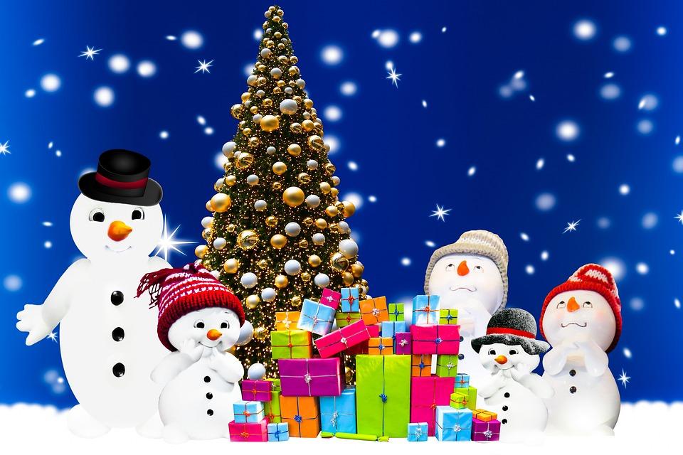 Hintergrund, Weihnachten, Weihnachtszeit, Geschenke