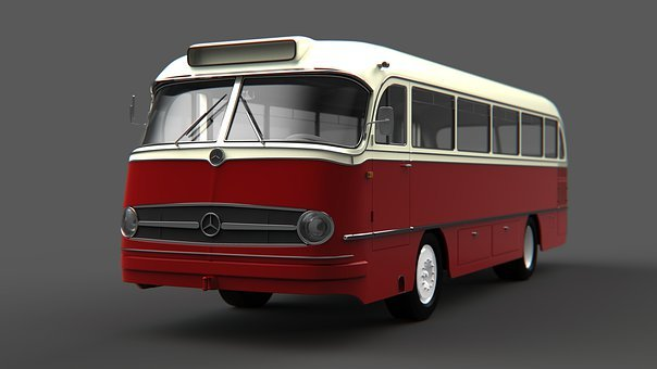 Mercedes Benz, Bus, Buses, Modeling