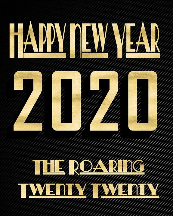 Image result for happy new year 2020 images pixabay