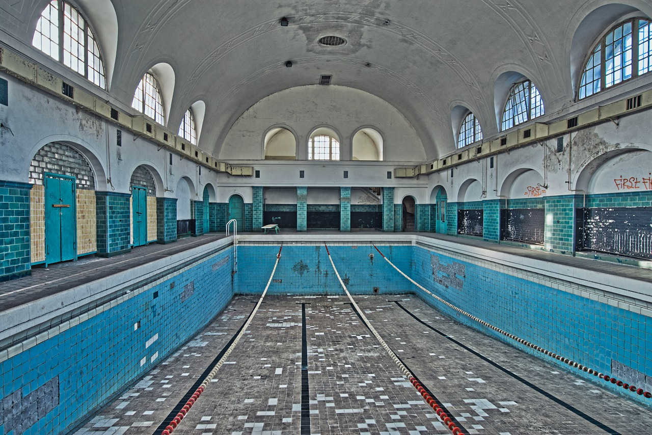 Lost Places Swimming Pool Old Free Photo On Pixabay