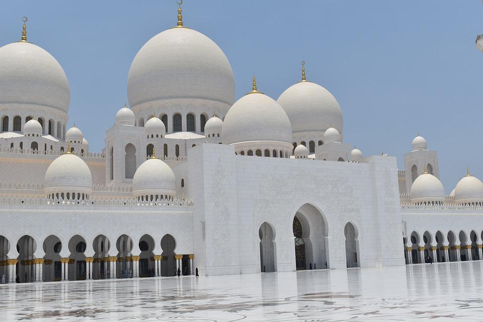 Zayed-Moskee Abu Dhabi Moskee - Gratis foto op Pixabay