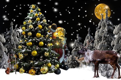 Background, Christmas, Christmas Time