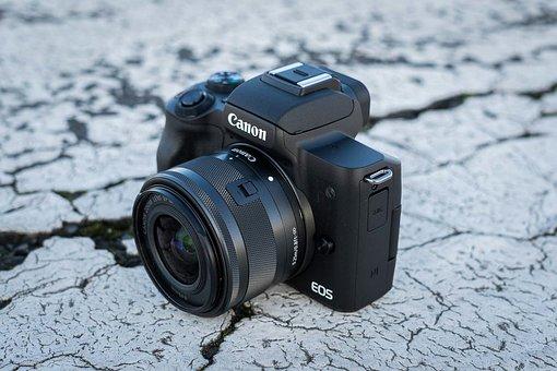 佳能相机, 佳能反光镜, Eos-M-50