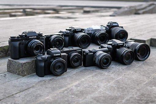 システムカメラ, キヤノン, 富士フイルム, オリンパス, ニコン, Dslm