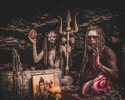 Priest, God, Caveman, Yogi, Trident
