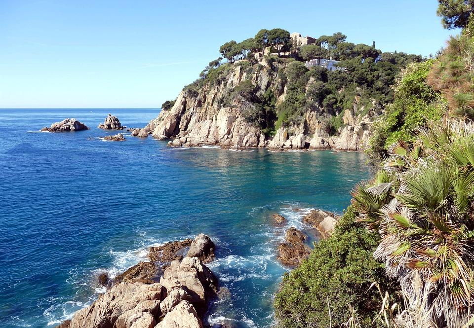 Costa Brava Spain Sea Free Photo On Pixabay