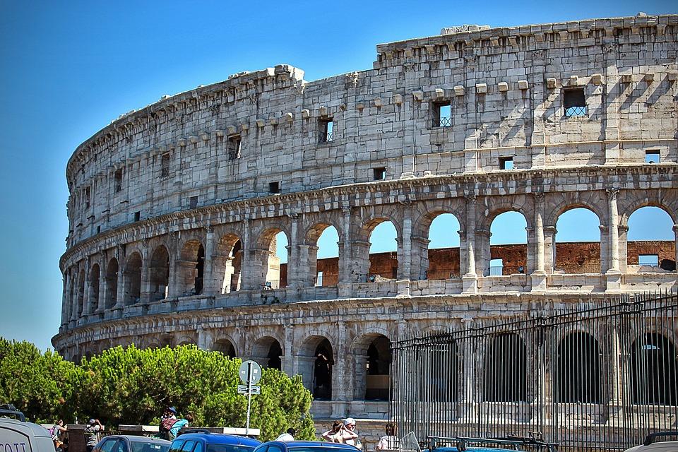 Coliseo, Roma, Turismo, Historia, Italia, Romano