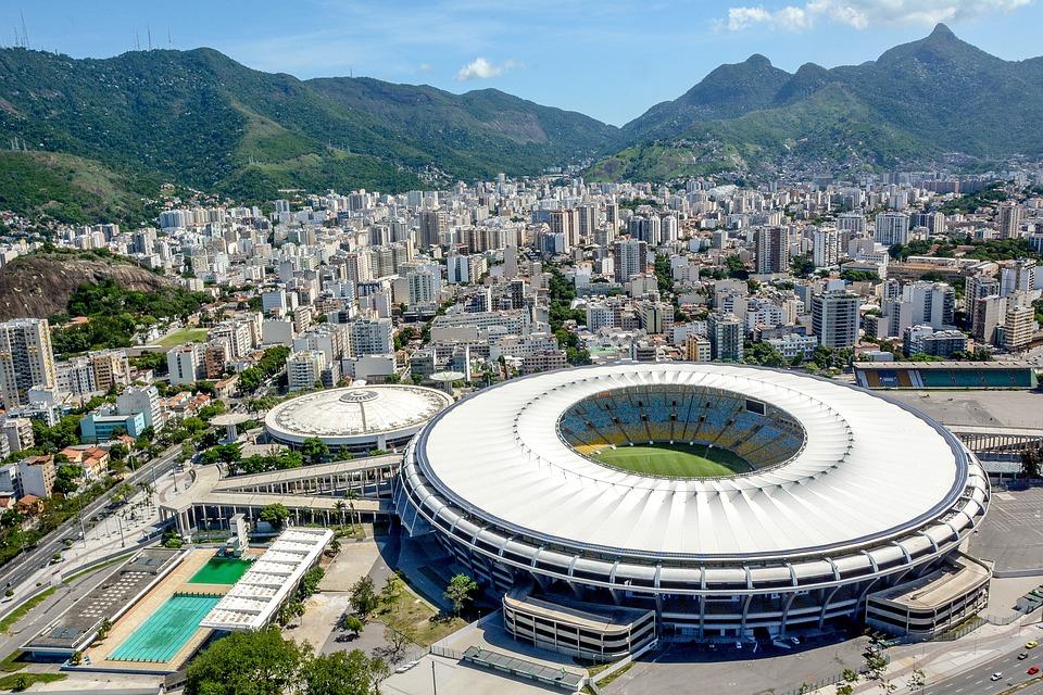 Brazil, Rio, Janeiro, Landscape, Wave, Mountain