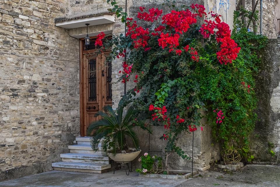 Street, Village, Architecture, House, Building, Cyprus