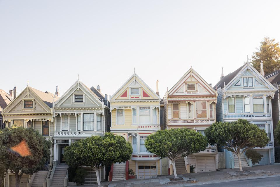 San Francisco, Skyline, House, Tourism, Buildings