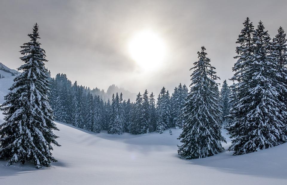 Tél, Hegyek, Hó, Táj, Természet, Alpesi, Scenic, Svájc