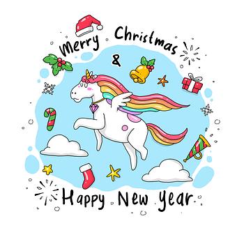 Doodle, Sketch, Cartoon, Unicorn, Horse