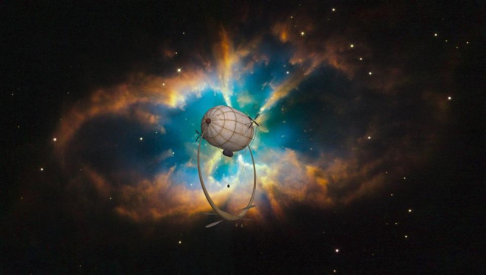 ファンタジー, 宇宙, スペース, 宇宙船, 銀河