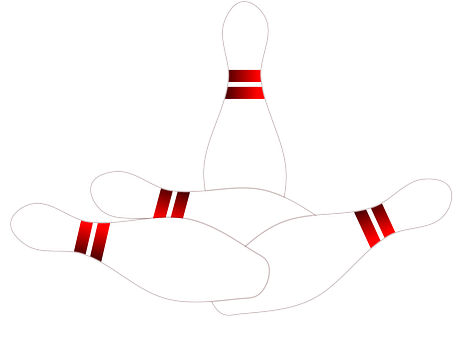 Ten Pin Bowling Split Or Spare Called Christmas Tree Stock Illustration -  Illustration of elements, bowl: 31431693