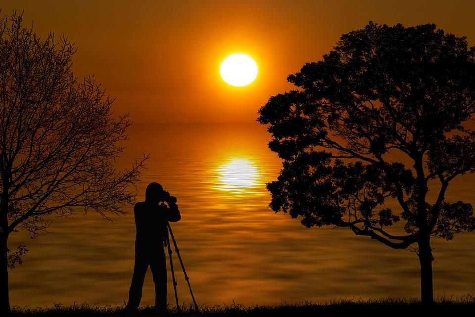 自然, 日没, 風景, 写真家, シルエット, 名勝, 太陽, ミステリー, 海