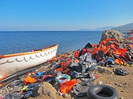 Vluchtelingen, Griekenland, Lesbos