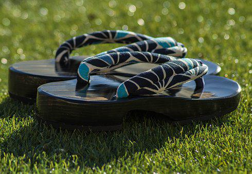 Sandals, Japan, Geta, Shoes, Traditional
