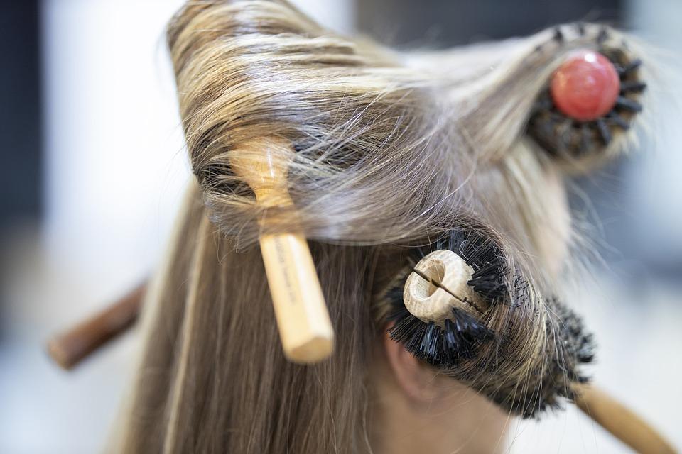 理发师, 维护, 头发, 沙龙, 时尚, 美容, 女子, 美丽, 肖像, 人, 女孩, 风格, 人类, 女士
