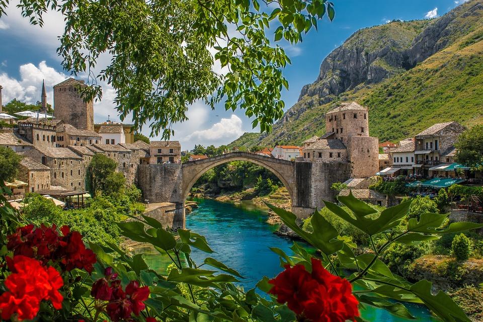Bosnia, Balkan, Mostar, Travel, Europe, Balkans, Bridge