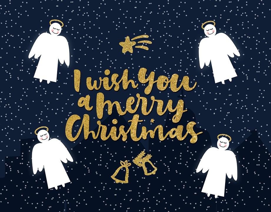 С Рождеством, Веселый, Рождество