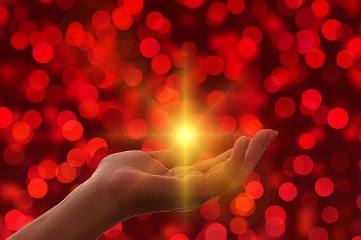Religion, Faith, Hand, Light, Trust, God