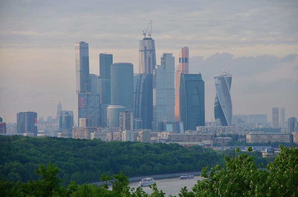 Moscow Skyline Russia Free Photo On Pixabay