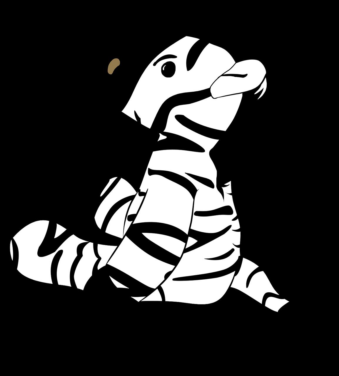 Zebra Hewan Kartun Gambar Gratis Di Pixabay