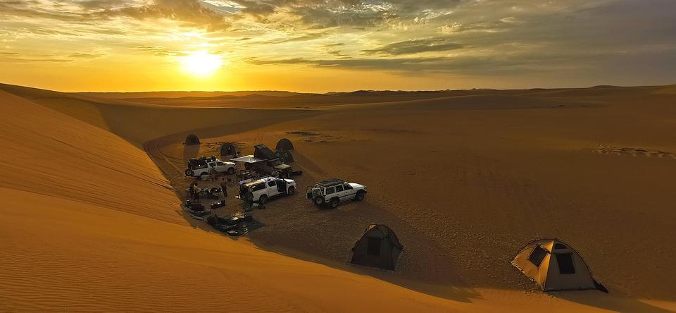 Africa, Namibia, Skeleton Coast, Sand, Dry, Safari, Sky