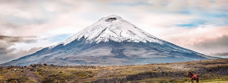 Volcano, Cotopaxi, Ecuador, Mountain, Snow Peak