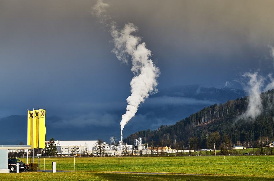 อุตสาหกรรม, มลพิษทางอากาศ, ทิโรล, เทือกเขาแอลป์