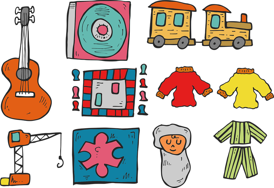 Gitaar Trein Kinderen Gratis Vectorafbeelding Op Pixabay