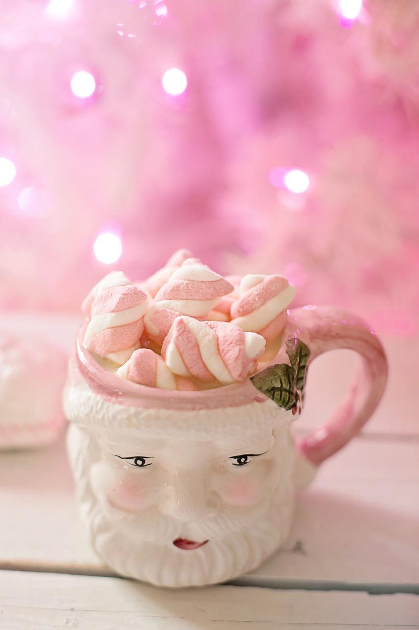 Christmas Pink Santa Free Photo On Pixabay
