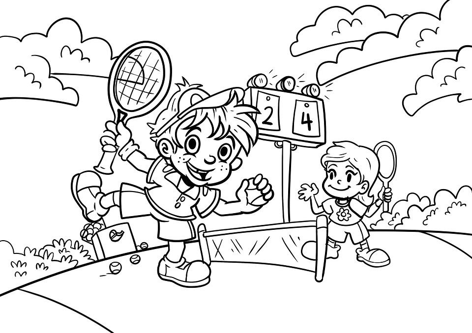 Sports Coloring Pages for Kids Sports Coloring Pages – Florence ... | 678x960