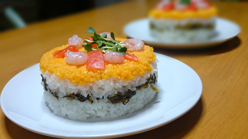 ひなまつり, ちらし寿司, 料理, 夕食, お祝い, 美味しい, Dinner, Food, 日本食, 寿司
