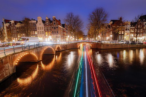 Amsterdam, Channels, Canals