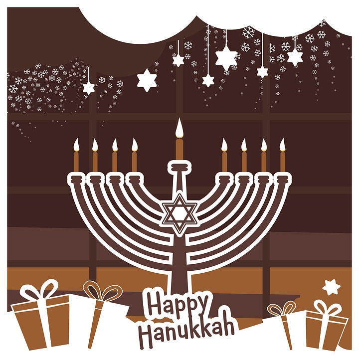 Happy Hanukkah, New Topstar2020, Chocolate Window Des
