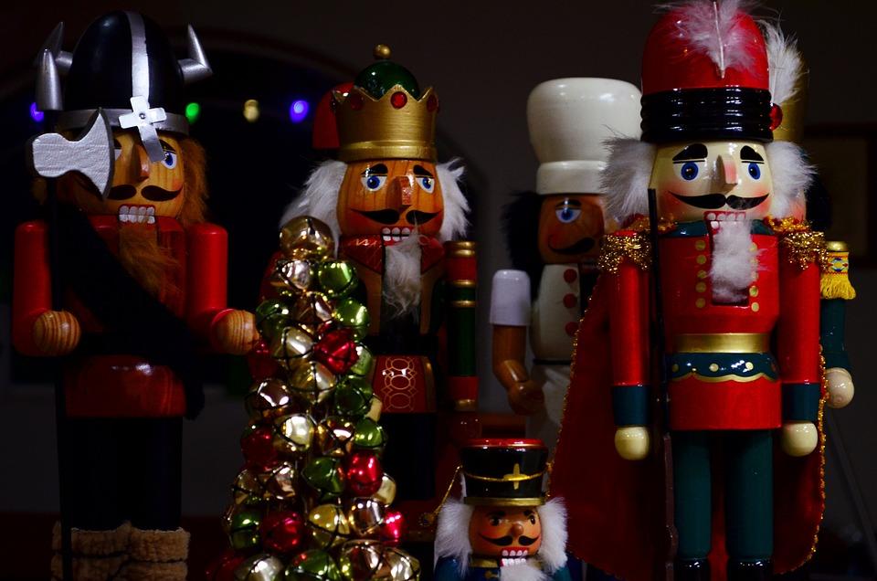 Casse Noisette, Noël, Décoration, Soldat, Avènement