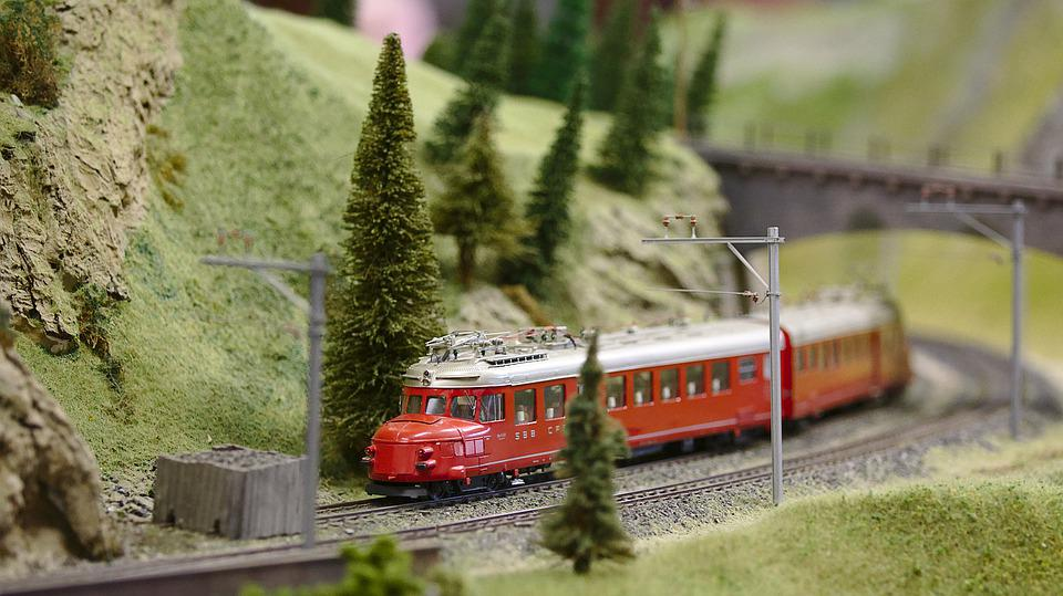 Model Railway, Train, Toys, Model Train, Railway Line