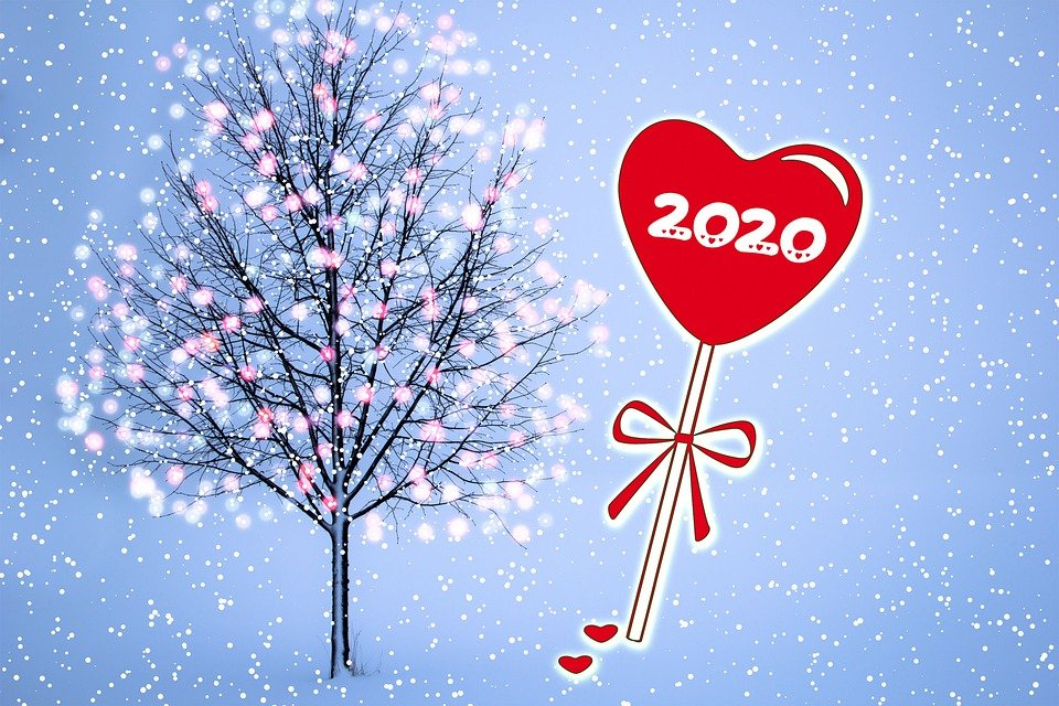 New Year'S Eve, New Year, 2020, Celebration, Card