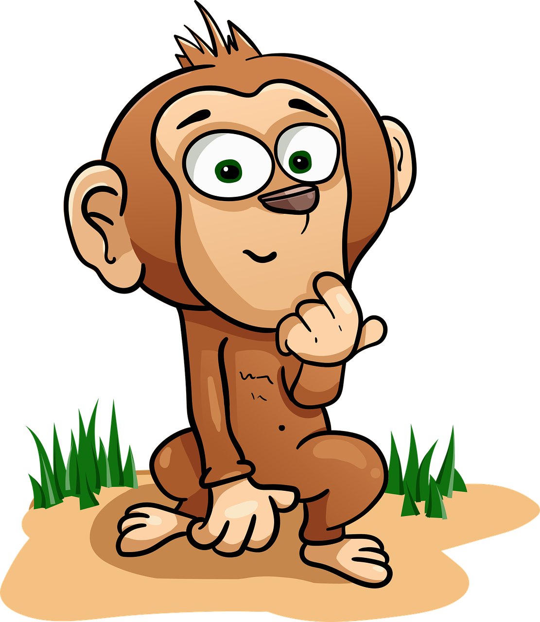 Monyet Simpanse Keunggulan Gambar Vektor Gratis Di Pixabay
