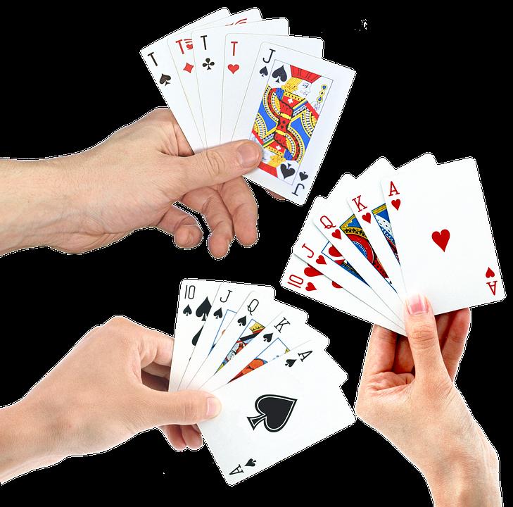 Ръце, Карти За Игра, Покер, Костюм, Casino, Късмет