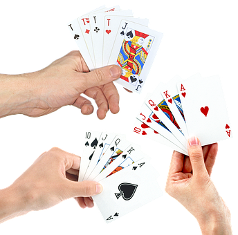 Hands, Playing Cards, Poker, Suit