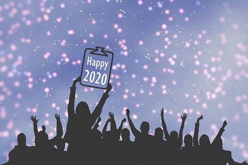 Nouvel An, 2020, Célébrer, Célébration