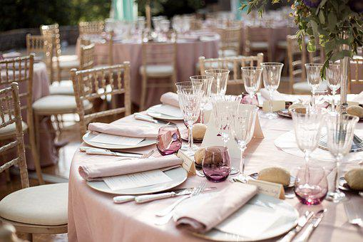 Deco, Wedding, Flowers, Decoration