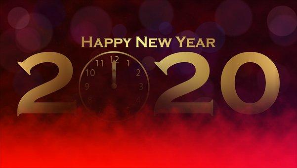 Nyårsafton, 2020, Gott Nytt År, Vintern