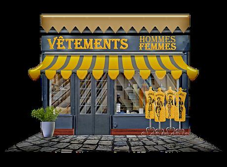 Paris Shop, Paris Storefront, Épicerie