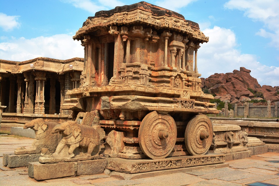 Hampi Ancient Temples best new year destinations in south india