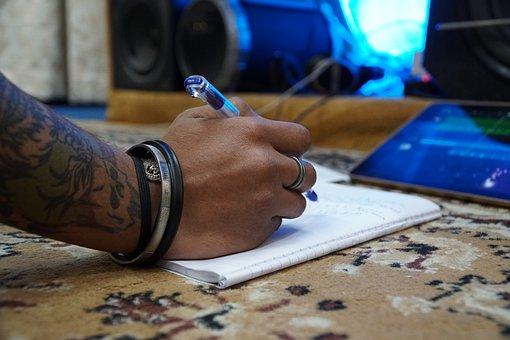Canção, composição, música, escrita, canções